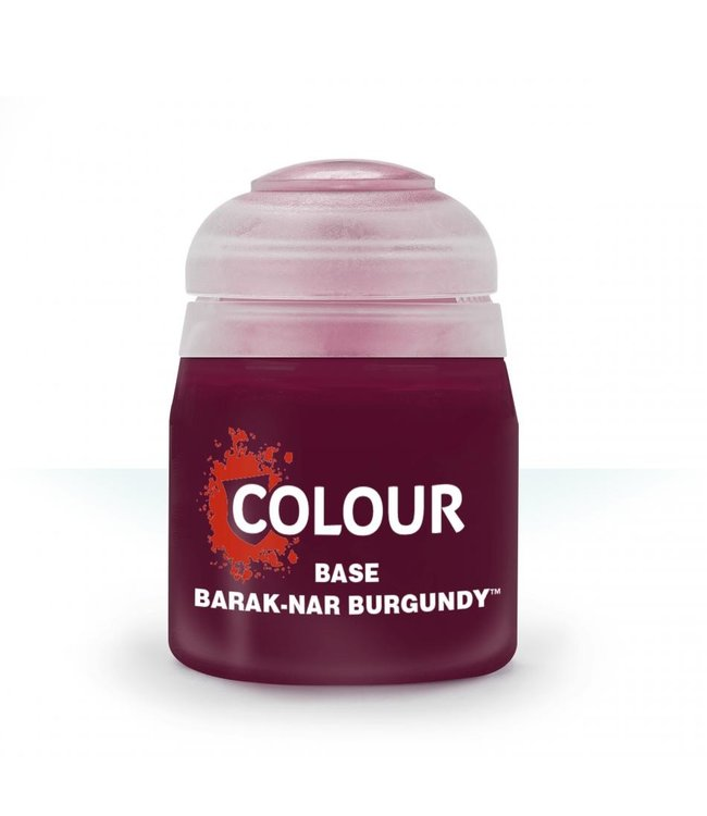 Citadel - Paints Base: Barak-Nar Burgundy