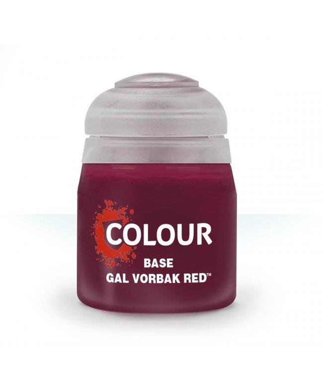 Citadel - Paints Base: Gal Vorbak Red