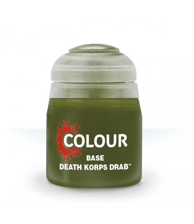 Citadel - Paints Base: Death Korps Drab
