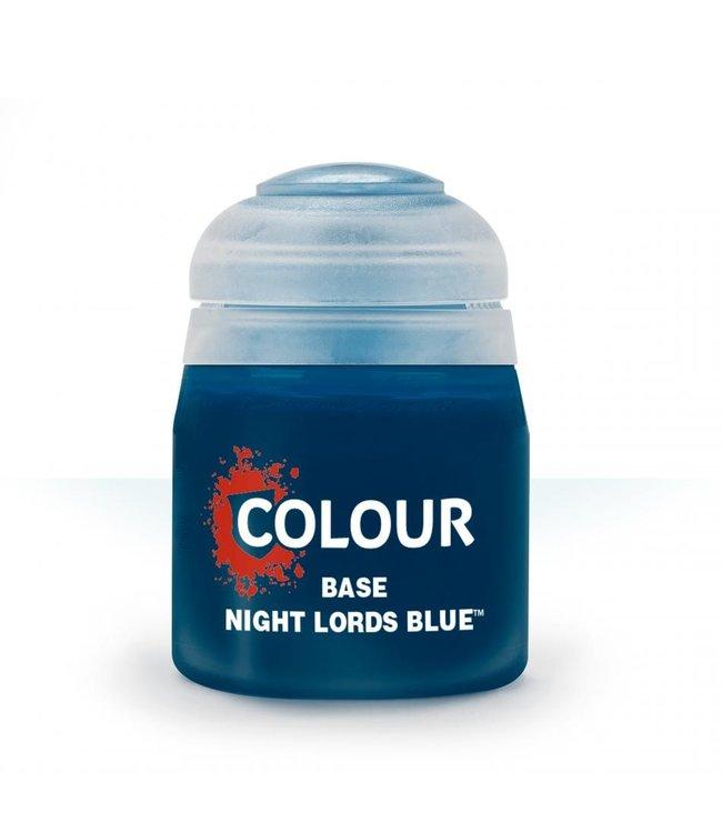 Citadel - Paints Base: Night Lords Blue (12Ml)
