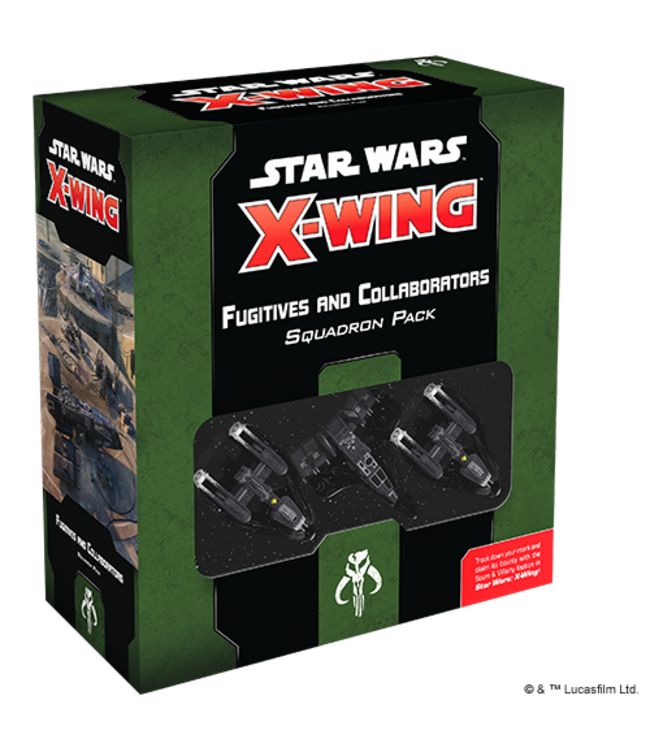 Star Wars X-Wing Fugitives and Collaborators Squadron Pack