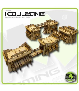 MAD Gaming Terrain Killzone - Deployable Armoured Habs