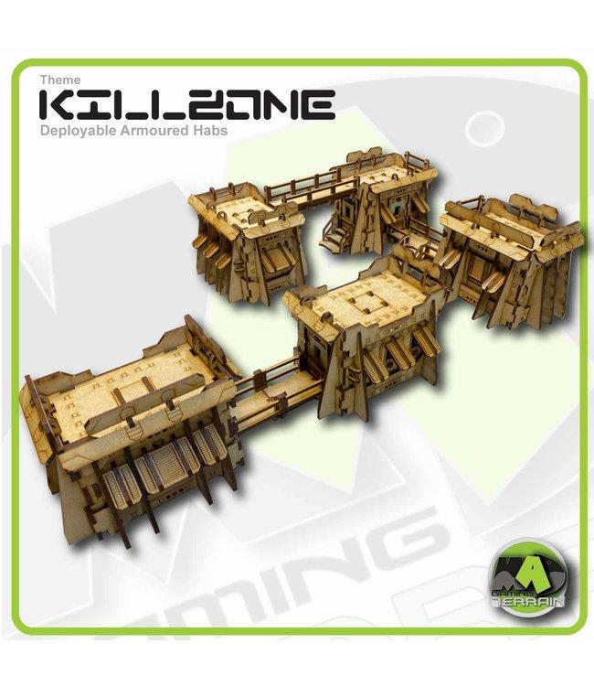 MAD Gaming Terrain Killzone - Deployable Armoured Habs