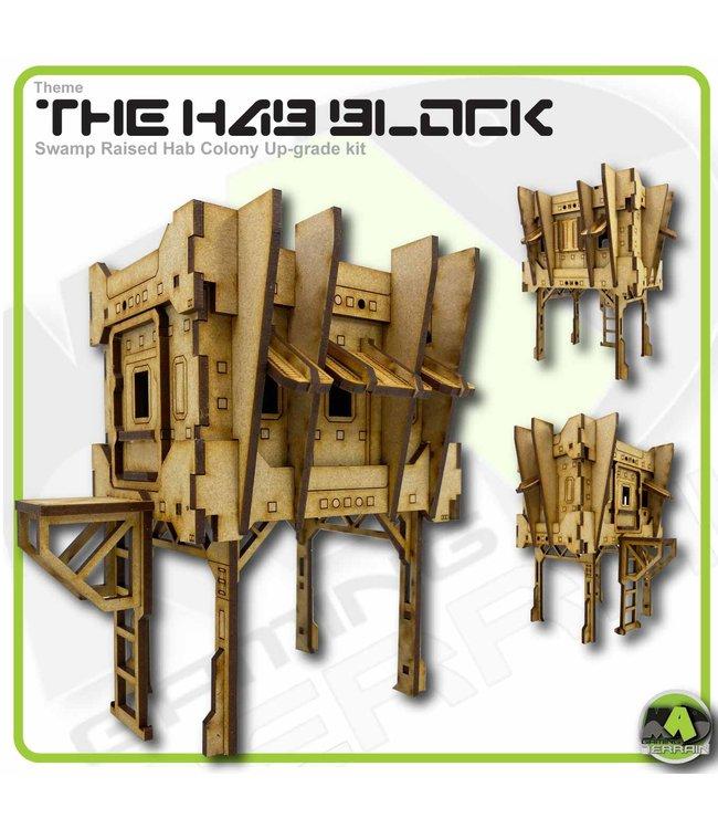 MAD Gaming Terrain Raised Hab Colony Up-grade kit