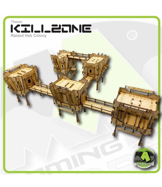 MAD Gaming Terrain Killzone - Raised Hab Colony