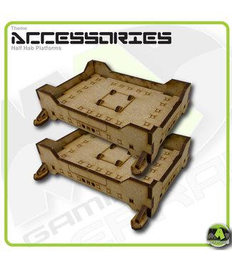 MAD Gaming Terrain Half Hab Platforms