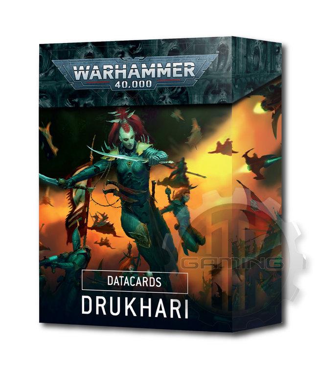 Warhammer 40000 Datacards: Drukhari