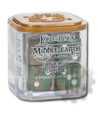 Lord Of The Rings Middle-Earth Sbg: Fangorn Dice Set