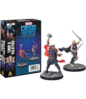 Marvel Marvel Crisis Protocol: Thor and Valkyrie