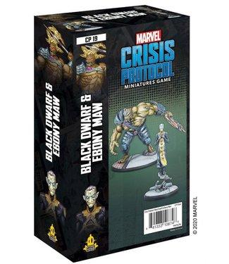 Marvel Marvel Crisis Protocol: Black Dwarf & Ebony Maw