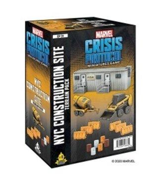 Marvel Marvel Crisis Protocol: NYC Construction Site Terrain
