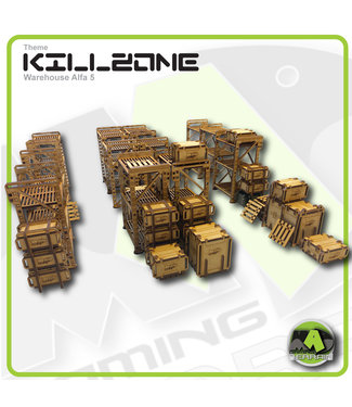 MAD Gaming Terrain Killzone - Warehouse Alfa 5