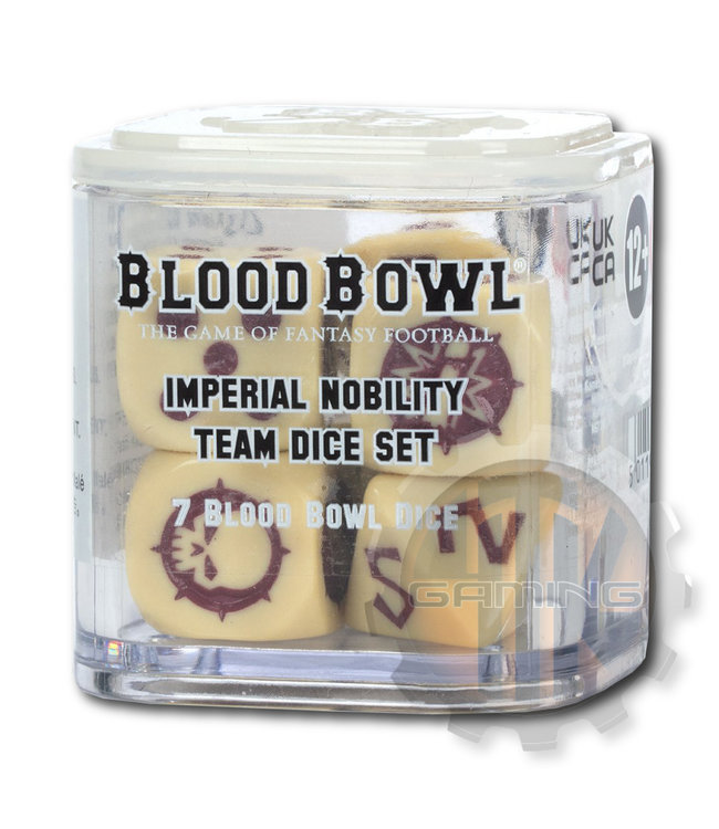 Blood Bowl Blood Bowl Imperial Nobility Team Dice