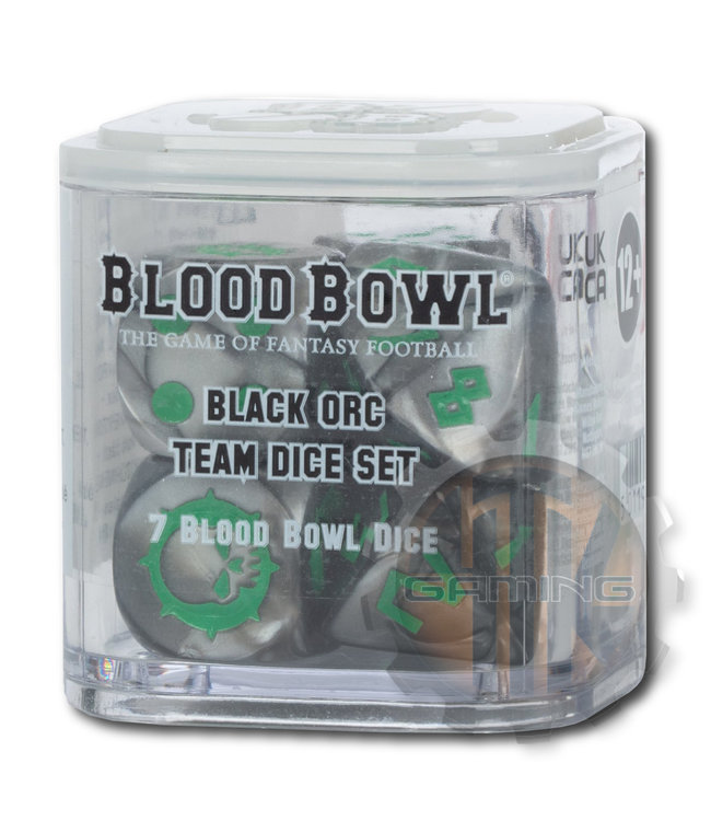 Blood Bowl Blood Bowl Black Orc Team Dice Set