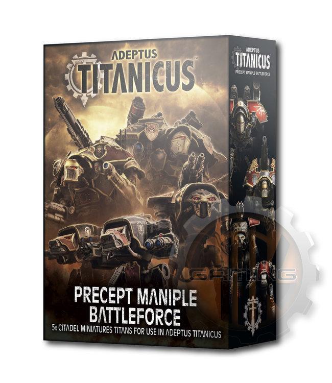 Adeptus Titanicus Adeptus Titanicus: Precept Maniple Battleforce