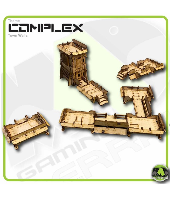 MAD Gaming Terrain KILLZONE - Deployable Platform Defence Line