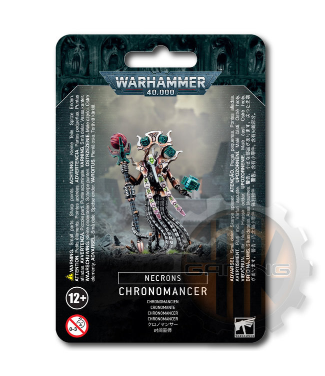 Warhammer 40000 Necrons Chronomancer