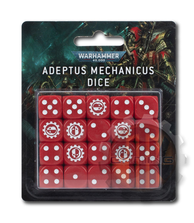 Warhammer 40000 Warhammer 40000: Adeptus Mechanicus Dice
