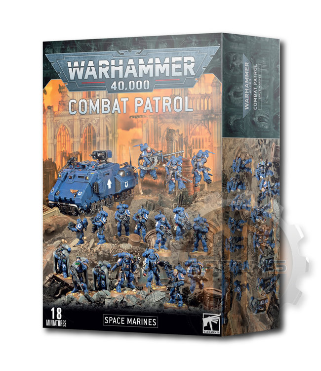 Warhammer 40000 Combat Patrol: Space Marines