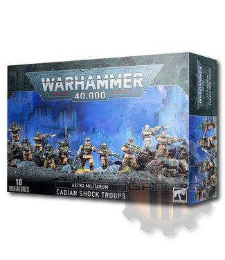 Warhammer 40000 Astra Militarum Cadian Shock Troops