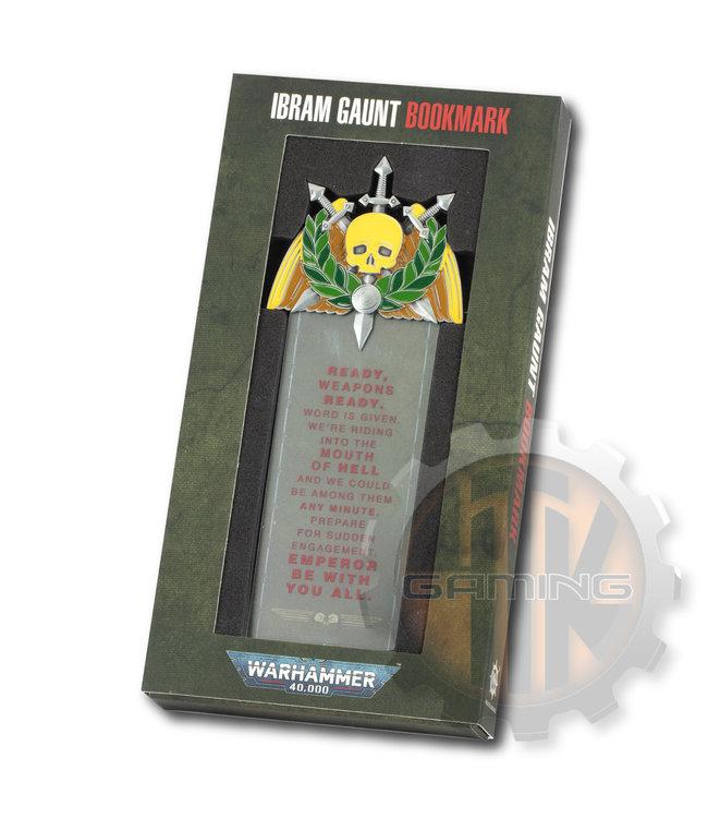 Black Library Ibram Gaunt Bookmark