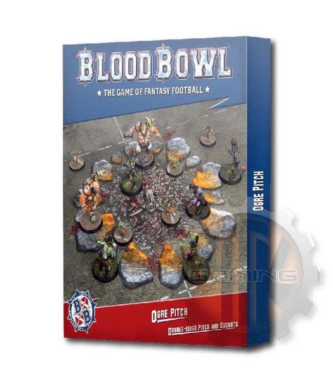 Blood Bowl Blood Bowl Ogre Team Pitch & Dugouts