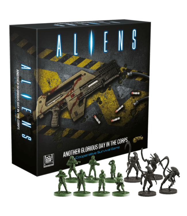 Aliens Aliens: Another Glorious Day in the Corps: A Cooperative Survival Game