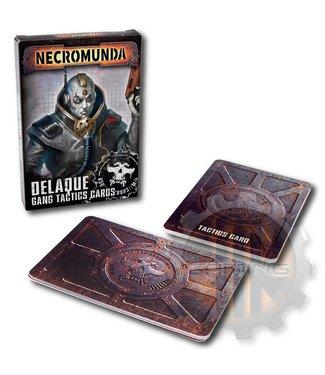 Necromunda Necromunda: Delaque Gang Tactics Cards
