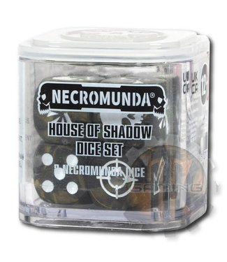 Necromunda Necromunda: House Of Shadow Dice Set
