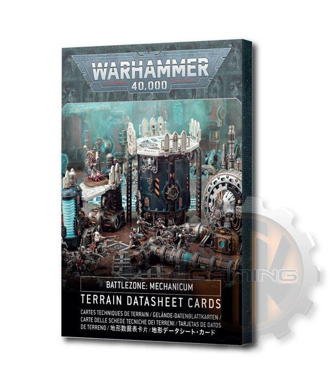 Warhammer 40000 Battlezone Mechanicum: Terrain Cards