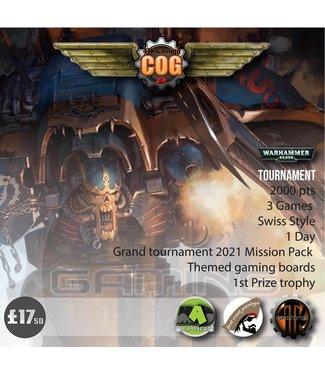 Tournaments COG 2K (12/08-21) Warhammer 40000 1 Day Tournament