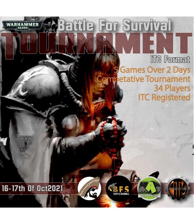 4Tk Gaming BFS (Battle For Survival)  16/17th October