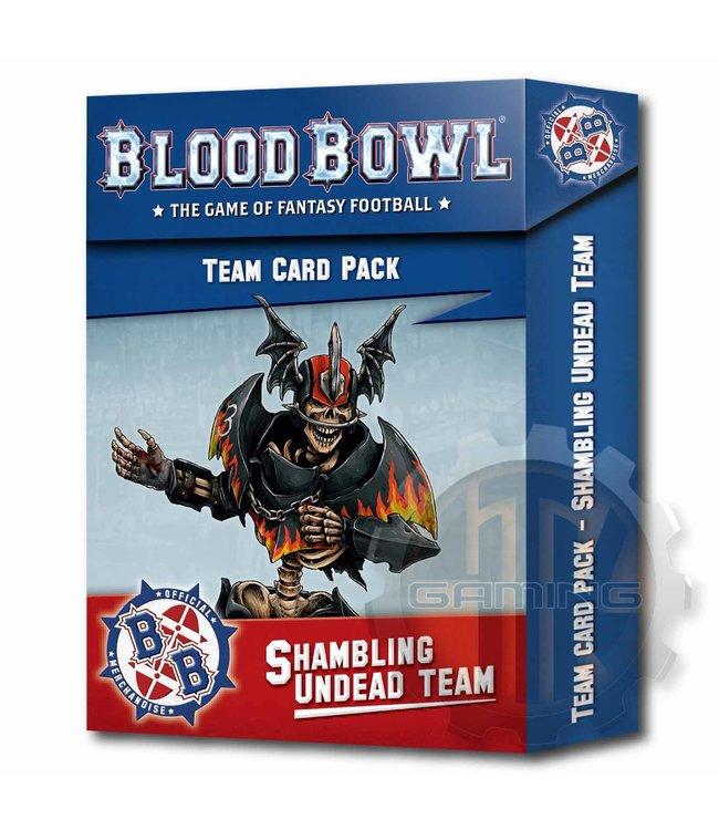 Blood Bowl Blood Bowl: Shambling Undead Team Cards