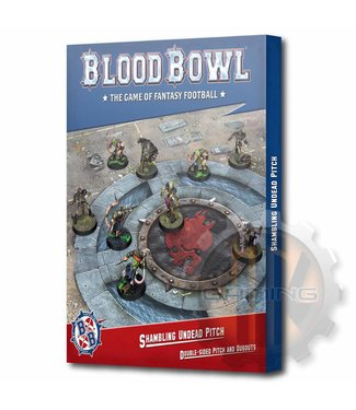 Blood Bowl B/Bowl Shambling Undead Pitch & Dugouts