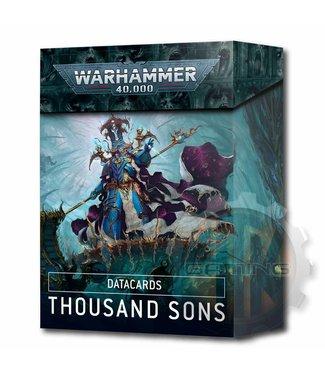 Warhammer 40000 Datacards: Thousand Sons