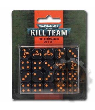 Kill Team Kill Team: Ork Kommandos Dice Set