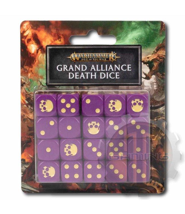 Age Of Sigmar Aos: Grand Alliance Death Dice Set