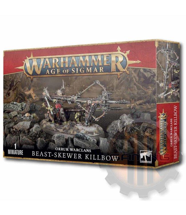 Age Of Sigmar Orruk Warclans: Beast-Skewer Killbow
