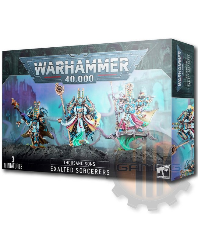 Games Workshop Thousand Sons Exalted Sorcerers