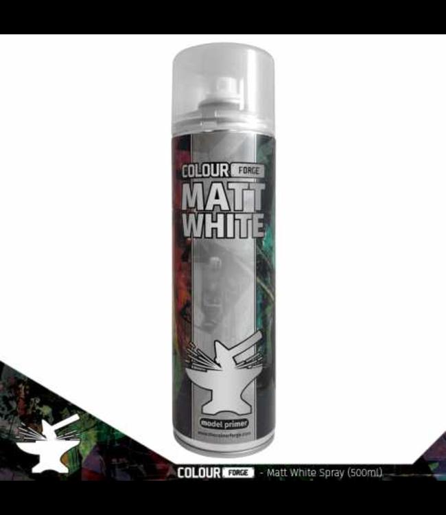 Colour Forge Colour Forge Matt White Spray (500ml)