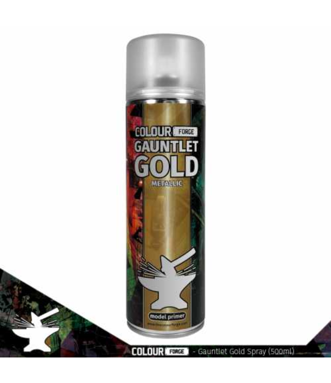Colour Forge Colour Forge Gauntlet Gold Spray (500ml)