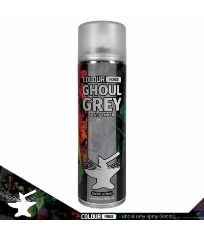 Colour Forge Colour Forge Ghoul Grey Spray (500ml)