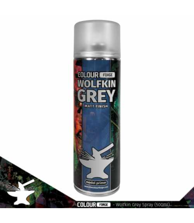 Colour Forge Colour Forge Wolfkin Grey Spray (500ml)