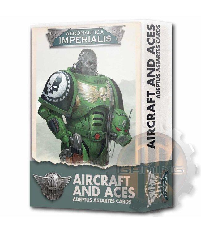 Aeronautica Imperialis Aeronautica Imperialis: Adeptus Astartes Aircraft & Aces Cards