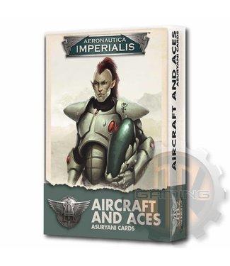 Aeronautica Imperialis Areonautica Imperialis: Asuryani Aircraft & Aces Card Pack