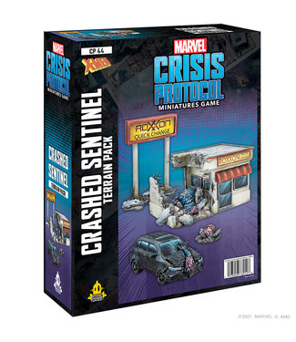Marvel Crisis Protocol: Crashed Sentinel Terrian Expansion