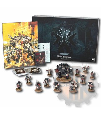 Warhammer 40000 Black Templars Army Set
