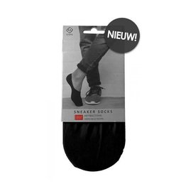 Sneaker Sokjes Zwart ( S/M-L/XL )