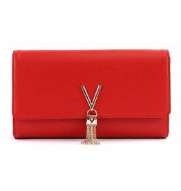 Valentino Valentino Clutch Divina Rosso M