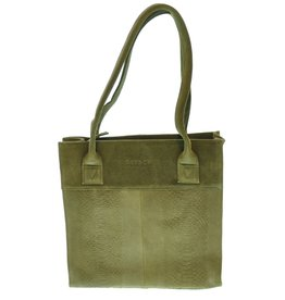 District District Schouder/hand tas Khaki 201DIS28
